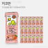[키코만]두유음료 딸기 200mlX18개입